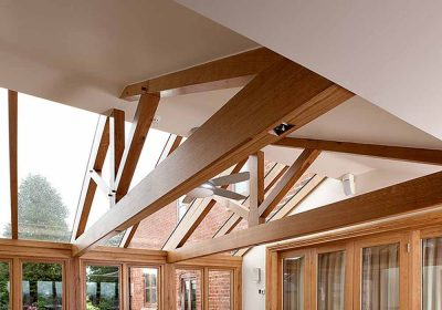 Oak & Home - Oak Framed Roof Beams