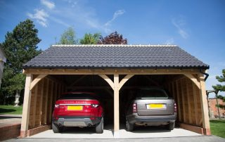 Two Bay Mulberry Oak Garage
